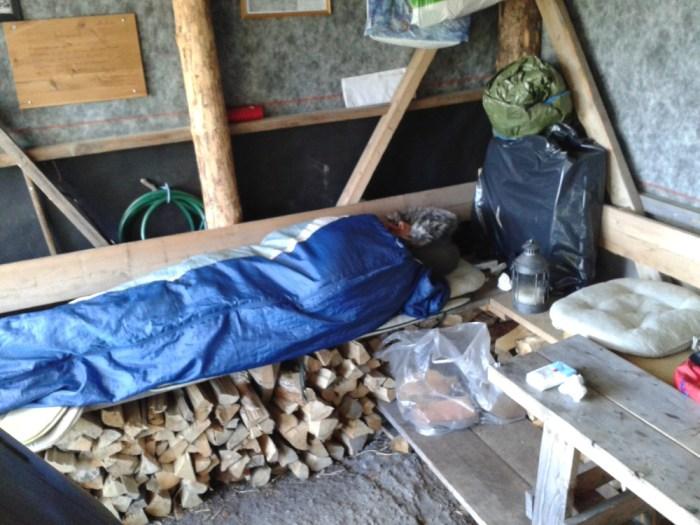 Refuge de montagne bivouac Norvège