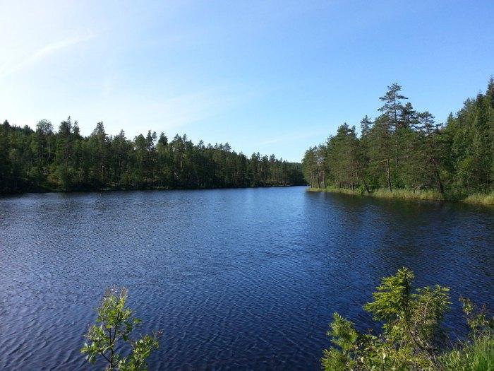 Superbe lac Norvège