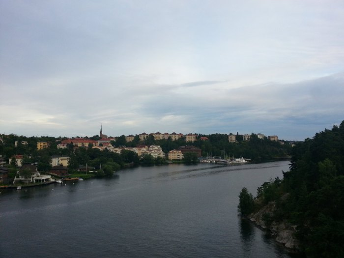Stockholm vue de haut