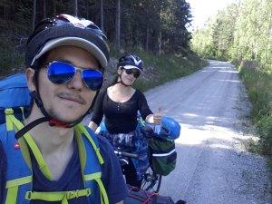 Voyageurs à vélo