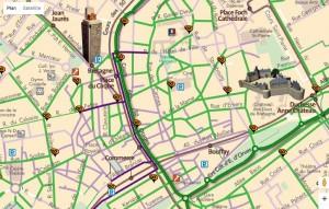 Piste cyclables Nantes