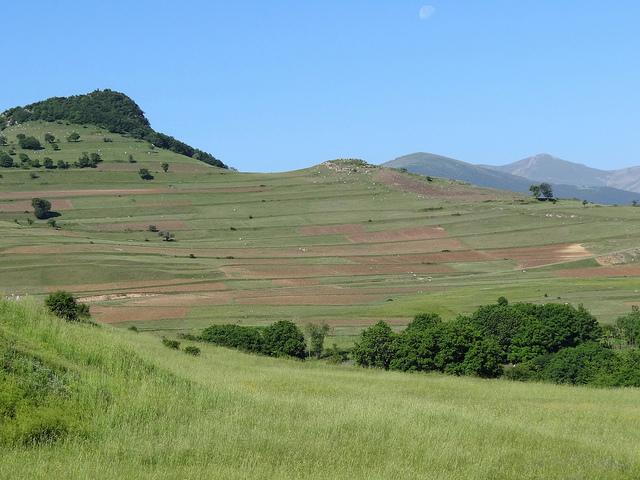 Paysage verdoyant Azerbaidjan
