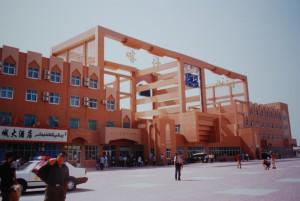 La gare de Kashgar