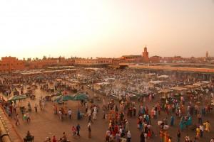 La place Jemaa El Fna à Marrakech