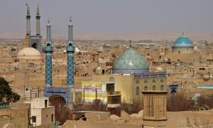 La ville de Yazd
