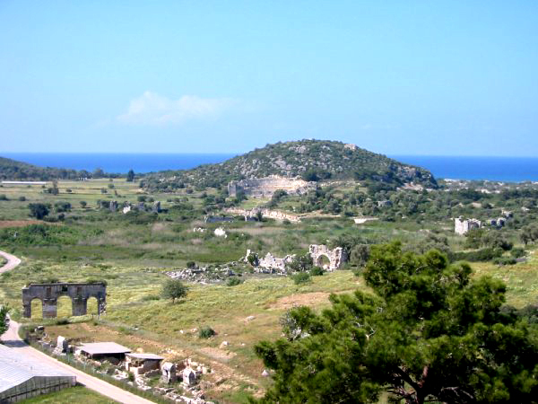 Les ruines de Patara