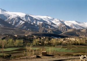 Paysage dans l'Atlas marocain