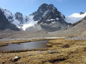 Paysage de montagne en Bolivie
