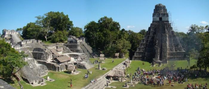 Tikal et ses temples mayas