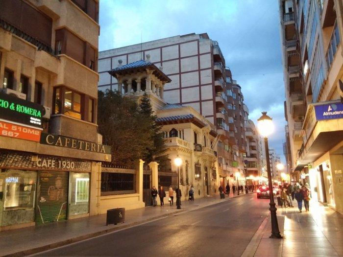 La rue principale d'Albacete