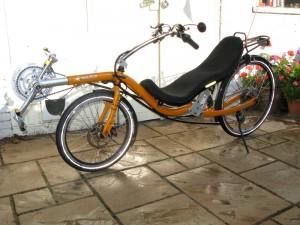 Exemple de vélo couché