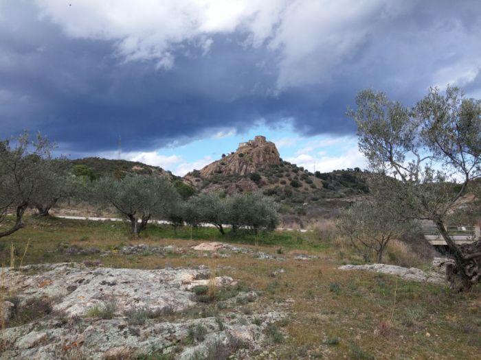 Paysage entre Vilajuïga et Sant Pere Pescador