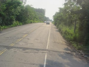 Route panamériaine au Panama