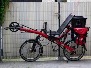 Vélo couché