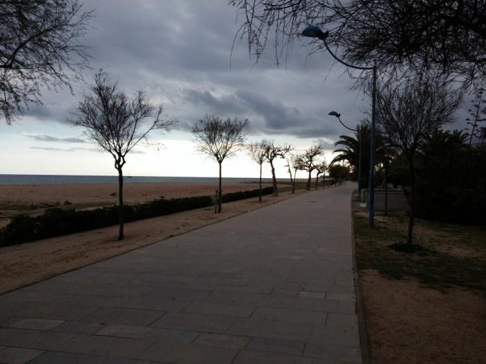 Promenade du littoral, Malgrat de mar
