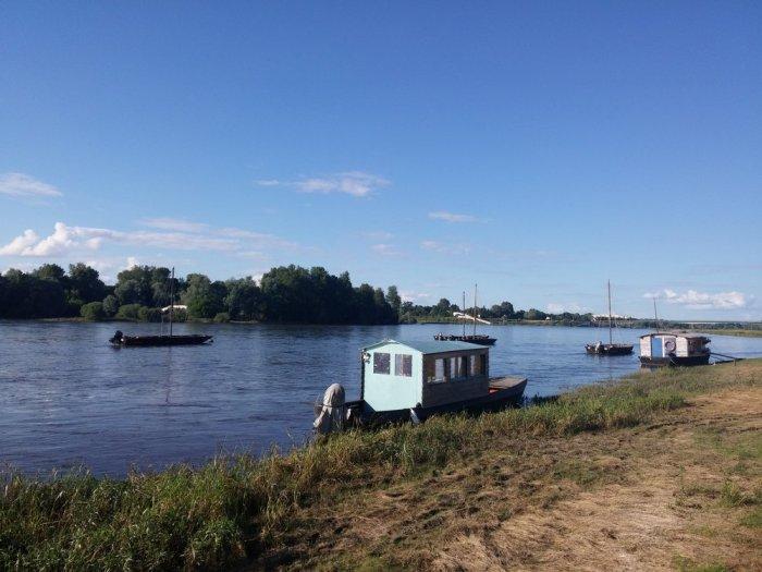 La Loire à l'entrée de Chaumont
