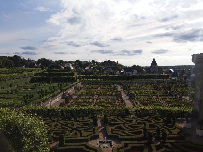 Le parc du château de Villandry