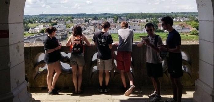 Panorama sur la ville d'Amboise