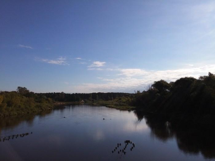 Lac à la sortie de Riga