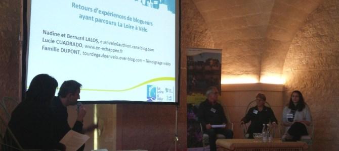 En Echappée invité à témoigner à la 6ème rencontre des acteurs de La Loire à Vélo
