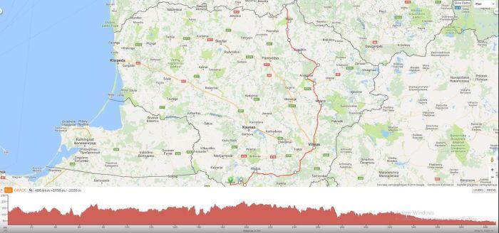 Itinéraire voyage à vélo en Lituanie