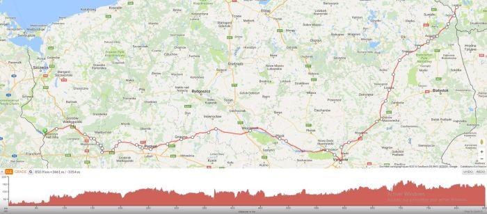 Itinéraire voyage à vélo en Pologne