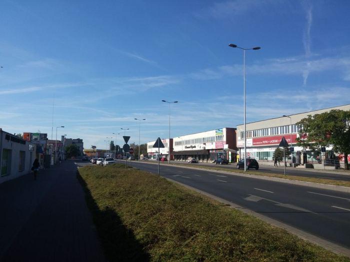 Rocade à quatre voies en Pologne
