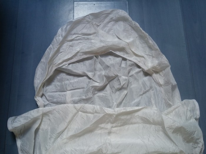 Le drap de sac de couchage Soie confort sarco Vieux Campeur
