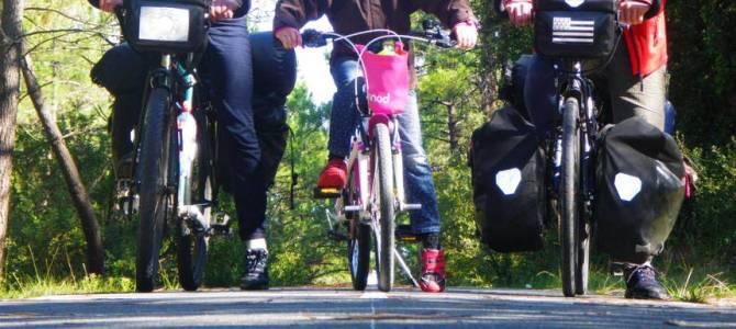 La Vélodyssée avec des enfants : de Rochefort à la Dune du Pilat