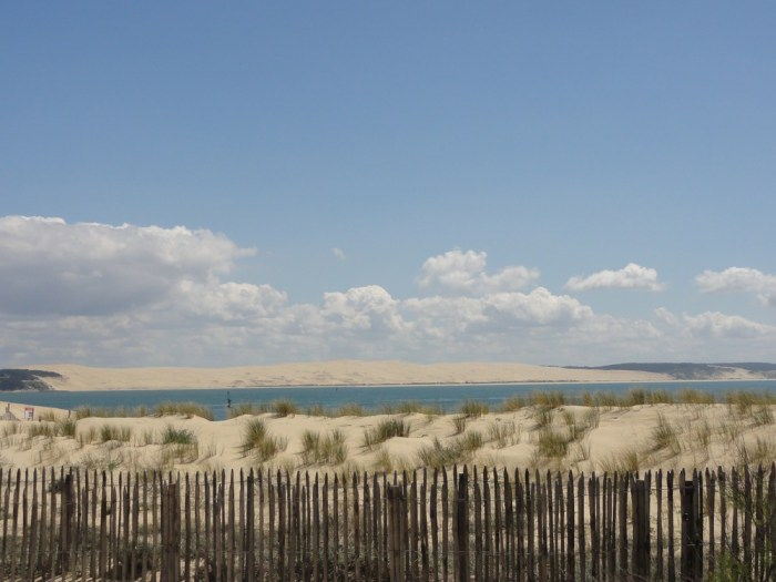 La Dune du Pilat vue du cap Ferret