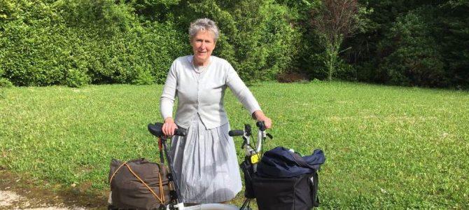 [Podcast] Belgique, Allemagne et Bourgogne à vélo pliant : le témoignage d'Astrid
