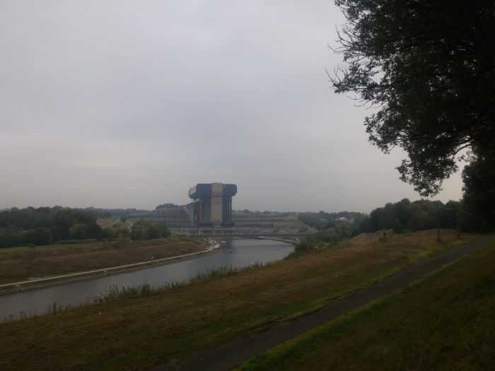 ascenseur a bateau de strepy-thieu belgique