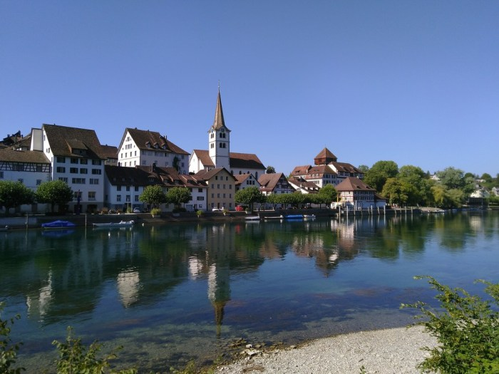 panorama suisse proche lac constance