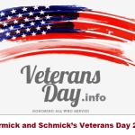 Mccormick and Schmick's Veterans Day 2020