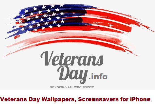 Veterans Day Wallpapers, Screensavers for iPhone