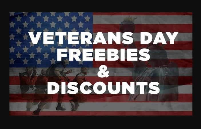 Freebies for Veterans on Veterans Day 2020