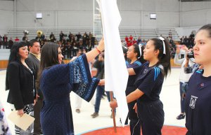 Abandera Norma Layón a delegación deportiva de la Región 18