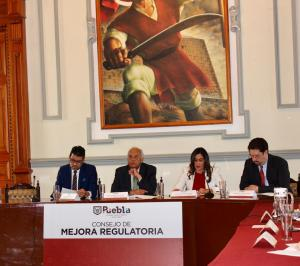 Ayuntamiento de Puebla presenta informe sobre Programa Municipal de Mejora Regulatoria 2019- 2021