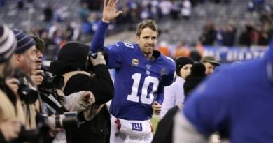 Eli Manning anuncia su retiro de la NFL