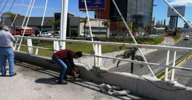 Sin daños por sismo el puente de Vía Atlixcáyotl: Protección Civil SACH