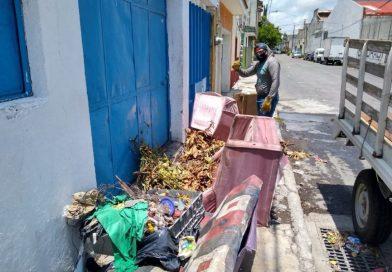 Retiran 614 toneladas de basura en 4 meses en Puebla capital