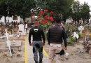 Supervisa San Andrés Cholula protocolo sanitario en panteones