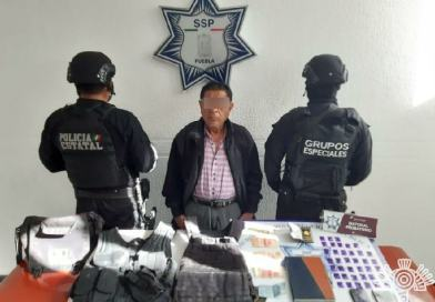 Detiene Policía Estatal a presunto operador de «La Patrona»