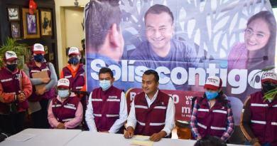 Presenta Roberto Solís proyecto para región Izta-Popo