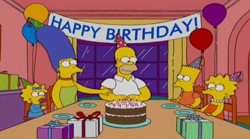 ¡Feliz cumpleaños 65 Homero Simpson!