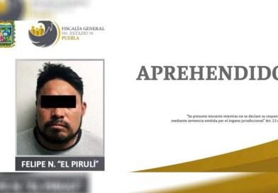 Recaptura FGE Puebla a «El Pirulí», afirma Barbosa