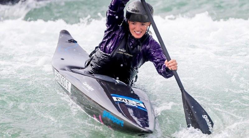 Poblana avanza a semifinales de canotaje slalom en Tokio 2020