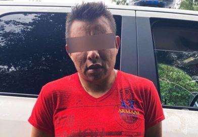 Policía Estatal detiene a presunto ladrón en Huauchinango