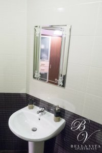 Bathroom in Apartment for Rent in Blagoevgrad Bulgaria Downtown Wide Centre