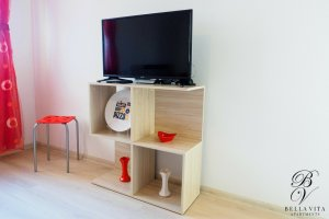 Big HD TV Luxury Rent Stay Blagoevgrad Bulgaria Milano Style